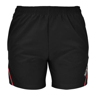 NCAA運動慢跑短褲-四向彈力-黑色-5614571-900-女款