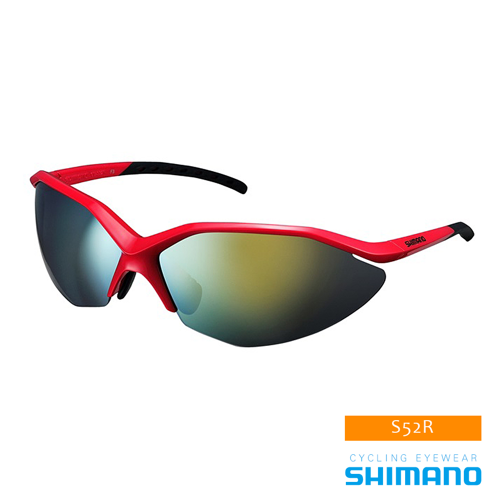 SHIMANO S52R 運動太陽眼鏡 紅黑