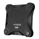 ADATA威剛 SD600 256GB USB3.1 外接式SSD行動硬碟-黑色