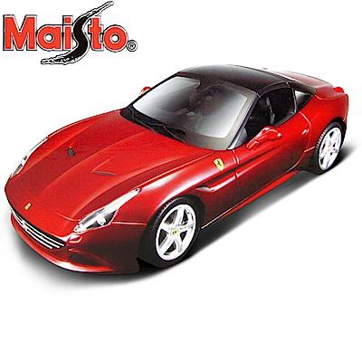 Maisto Ferrari California T 1:18合金組裝模型車 (紅色)