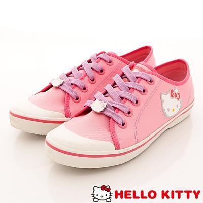 Hello Kitty-凱蒂休閒帆布款-NI10823粉(女段)