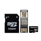 Gigastone 64GB MicroSDXC UHS-I (附轉卡+OTG讀卡機)