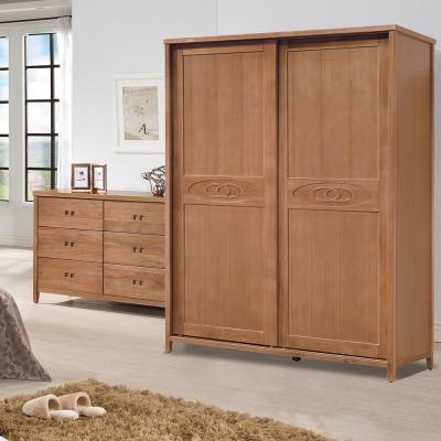時尚屋 香杉美檜5x7尺衣櫃 寬152cm-免組