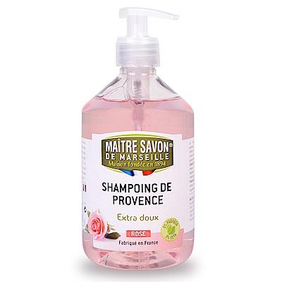 法國玫翠思馬賽洗髮精500ML-玫瑰