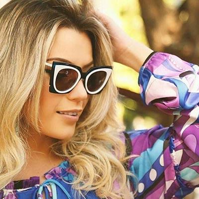 FENDI 時尚造型太陽眼鏡 (綠+粉色)FF0117S