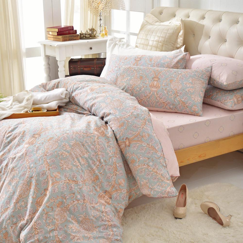 MONTAGUT-香榭大道-純棉-兩用被床包四件組(雙人)
