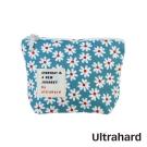 Ultrahard 閱讀小收納零錢包系列-春。花吹雪(天藍)