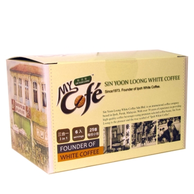 買2送2 新源隆怡保白咖啡三合一(6入/盒)