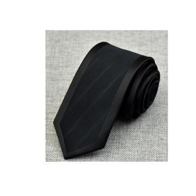 拉福 領帶哈利王領帶黑6cm領帶拉鍊領帶