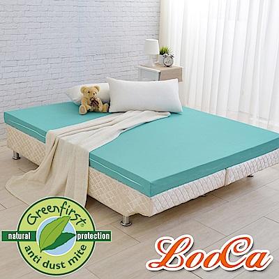 LooCa 法國防蹣防蚊輕釋壓記憶床墊11cm床墊-雙人5尺