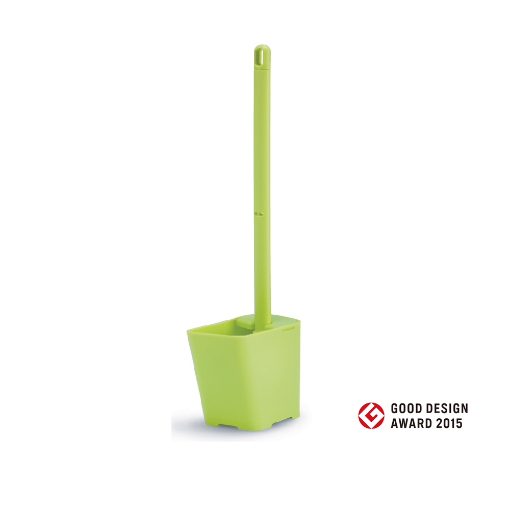 Toilet brush know傾倒式馬桶刷組(嫩芽綠)