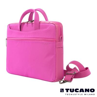 TUCANO WORK_OUT II 時尚亮彩薄型側背包MB 13.3吋-粉紅