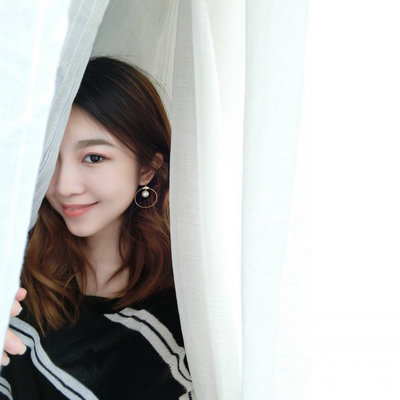 ACUBY-潮韓圓圈珍珠耳環-夾式