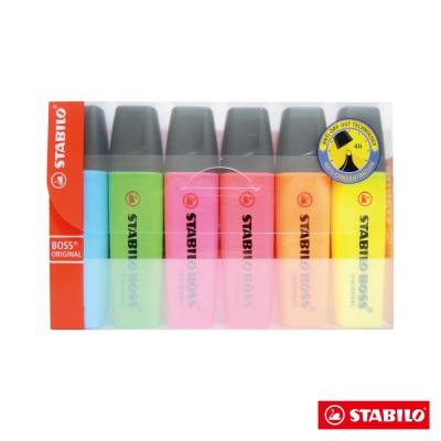 STABILO螢光系 - BOSS 6色螢光筆