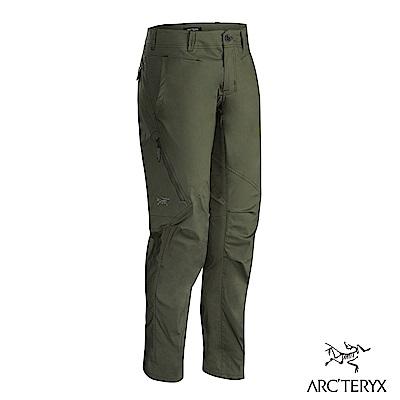 Arcteryx 24系列 男 Stowe 休閒彈性長褲 樹綠