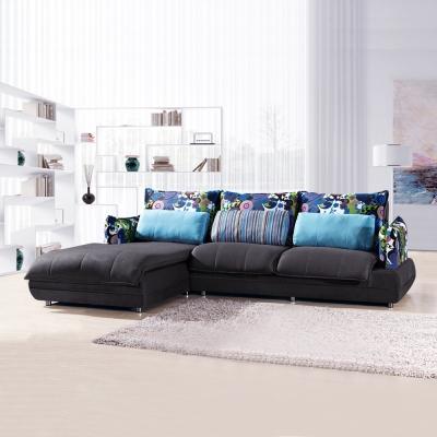 典雅大師 悠活空間舒適L型布沙發