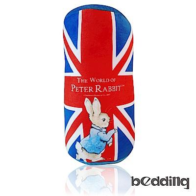 比得兔Peter Rabbit彼得兔經典圓筒抱枕-國旗
