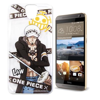 東映授權正版航海王 HTC One E9/E9+ 透明軟式手機殼(封鎖羅)