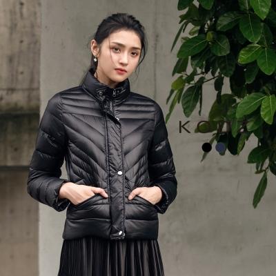 東京著衣-KODZ 極輕質感立體剪裁羽絨外套-S.M.L(共二色)