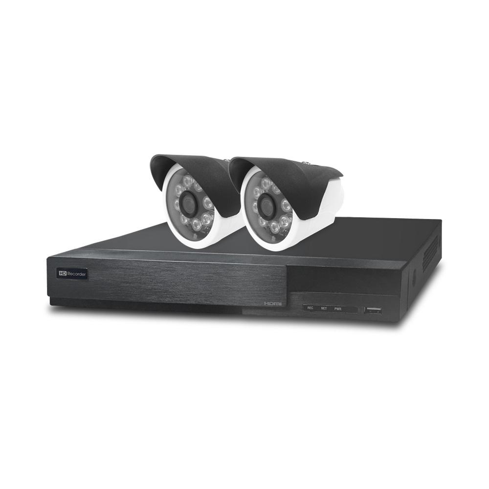 全視線 4路監控主機HS-HA4311+紅外線攝影機MB-AHD872Hx2