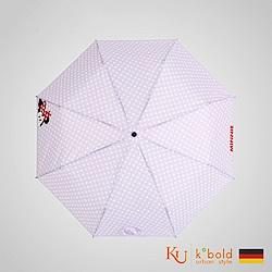 德國kobold 迪士尼官方授權-晴雨兩用傘-波點米妮-紫