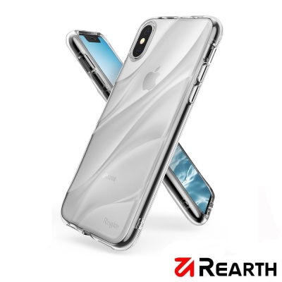 Rearth Apple iPhone X (Flow) 曲線保護殼(贈保貼)