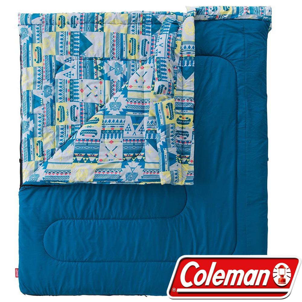 Coleman CM-27257 2 in 1信封型家庭睡袋/可雙拼/適溫5度