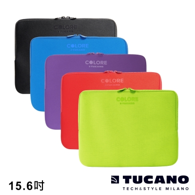 TUCANO Colore 多彩時尚筆電防震內袋 15.6吋