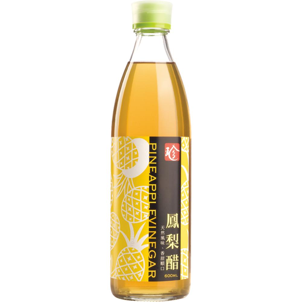 百家珍 鳳梨醋(600mlx6入)