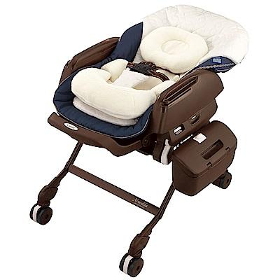 【麗嬰房】Combi Letto ATBR BEDi 電動安撫餐搖椅(藍)