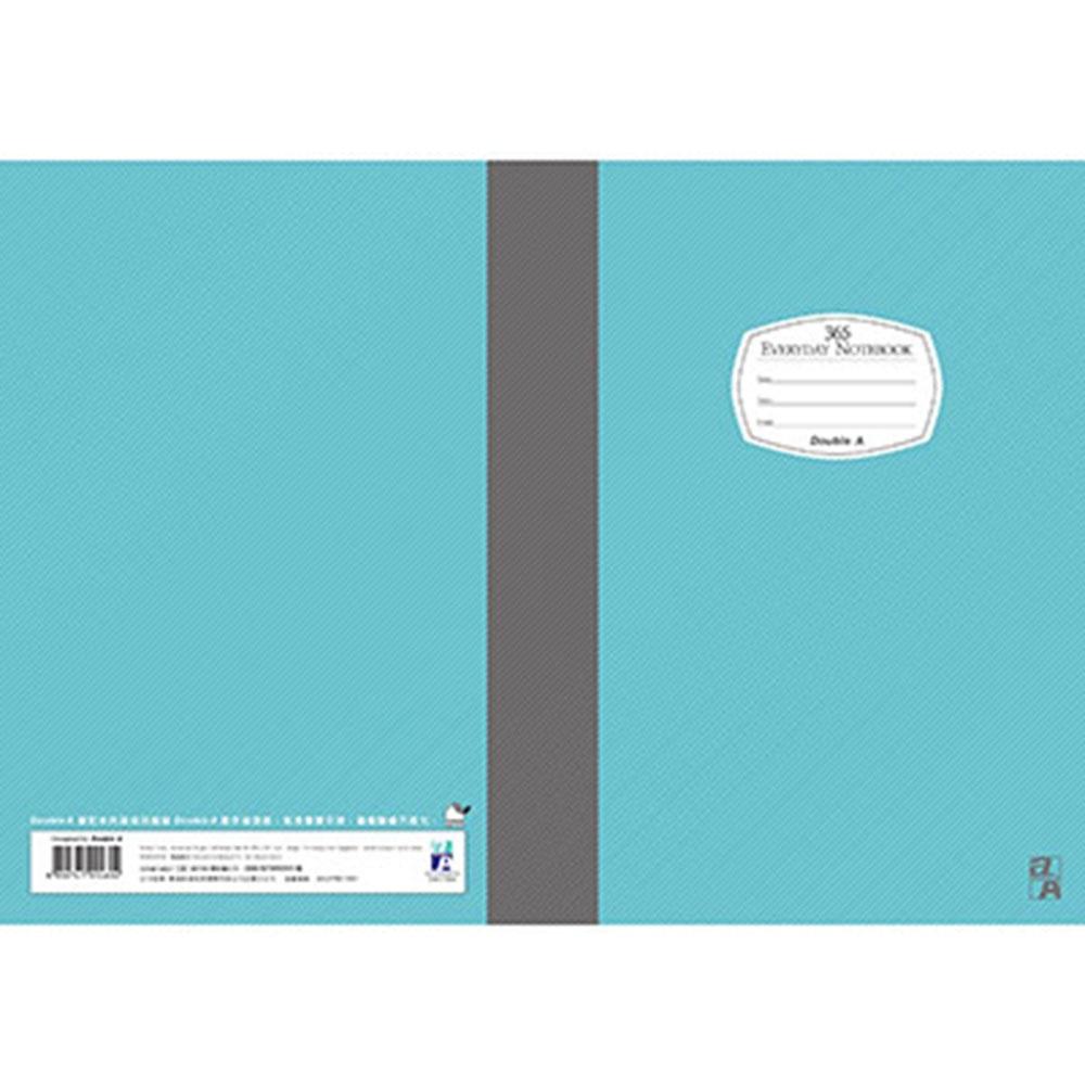 Double A B5/18K膠裝筆記本-藍(DANB14007)每日經典系列10本 @ Y!購物