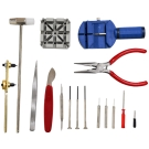 WISH DIY 鐘錶16件工具組 換電池/拆錶帶/保養/維修-快速到貨