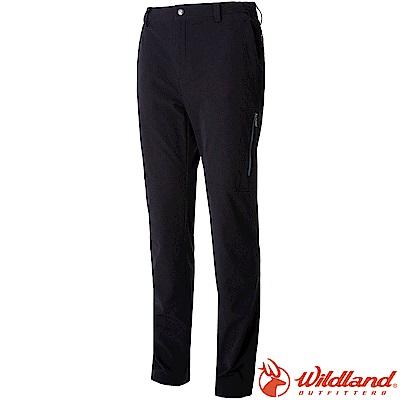 Wildland 荒野 0A52398-54黑色 男RE彈性粗曠多口袋長褲