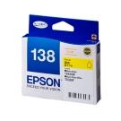 EPSON NO.138 高印量L 黃色墨水匣(T138450)