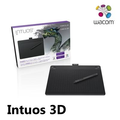 Intuos 3D 創意觸控繪圖板 Medium (經典黑)