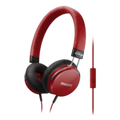 PHILIPS 飛利浦 頭戴式耳機麥克風 SHL5305RD
