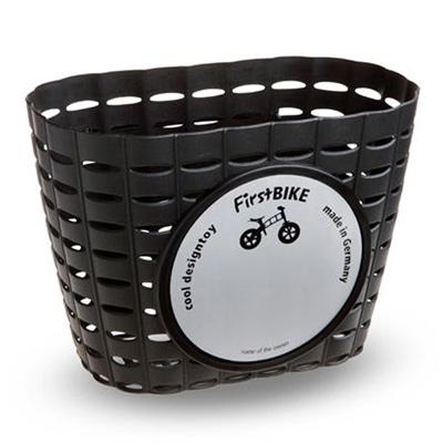 【FirstBIKE】德國設計寓教於樂 滑步車專屬車前籃(黑)