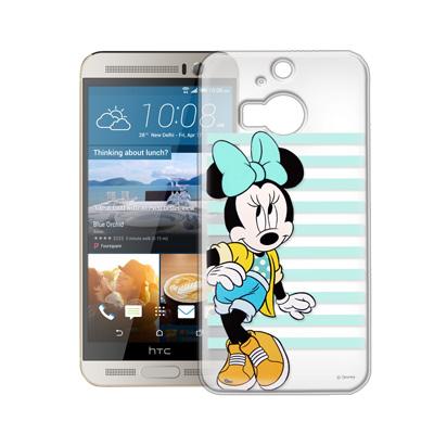 迪士尼HTC One M9+ 街頭透明軟式手機殼(俏米妮)