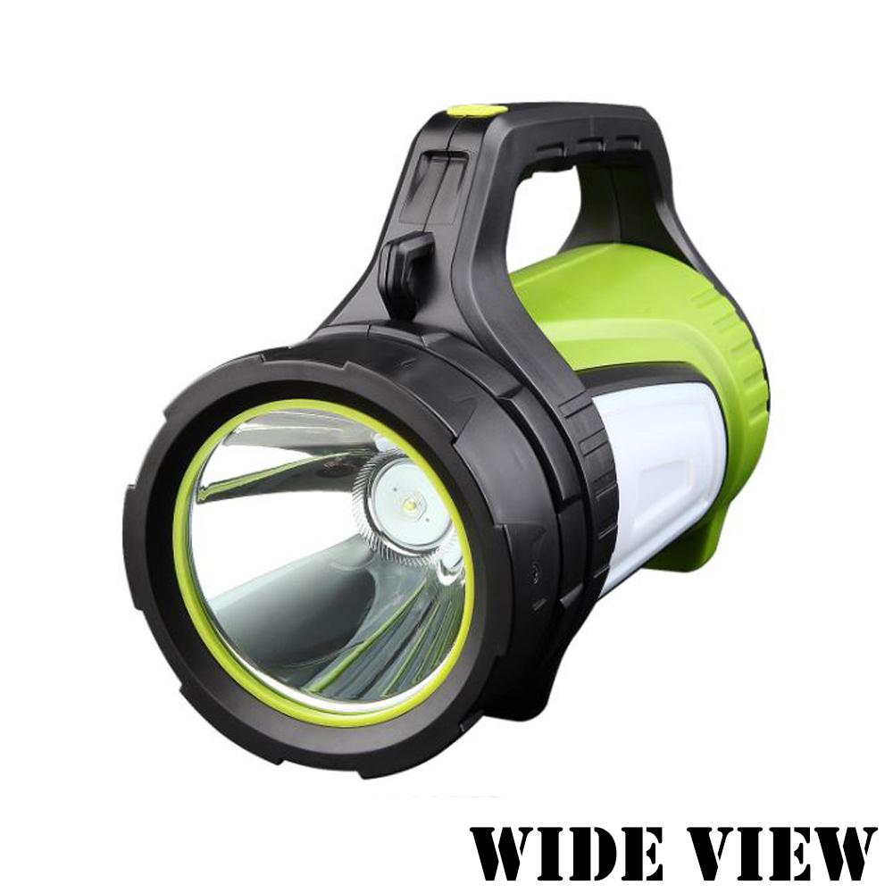 【WIDE VIEW】充電式大光杯超遠程探照燈(NTL-881)