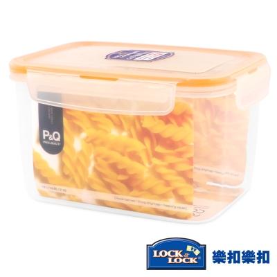 樂扣樂扣P&Q系列色彩繽紛PP保鮮盒-長方形1.5L(柳橙黃)(8H)