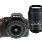 Nikon D5500+18-55mm+55-300mm VR 雙鏡組*(平輸中文)
