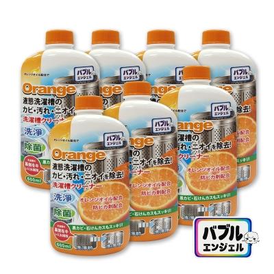 日本橘油液態洗衣槽專用清洗劑 600mlx7入組