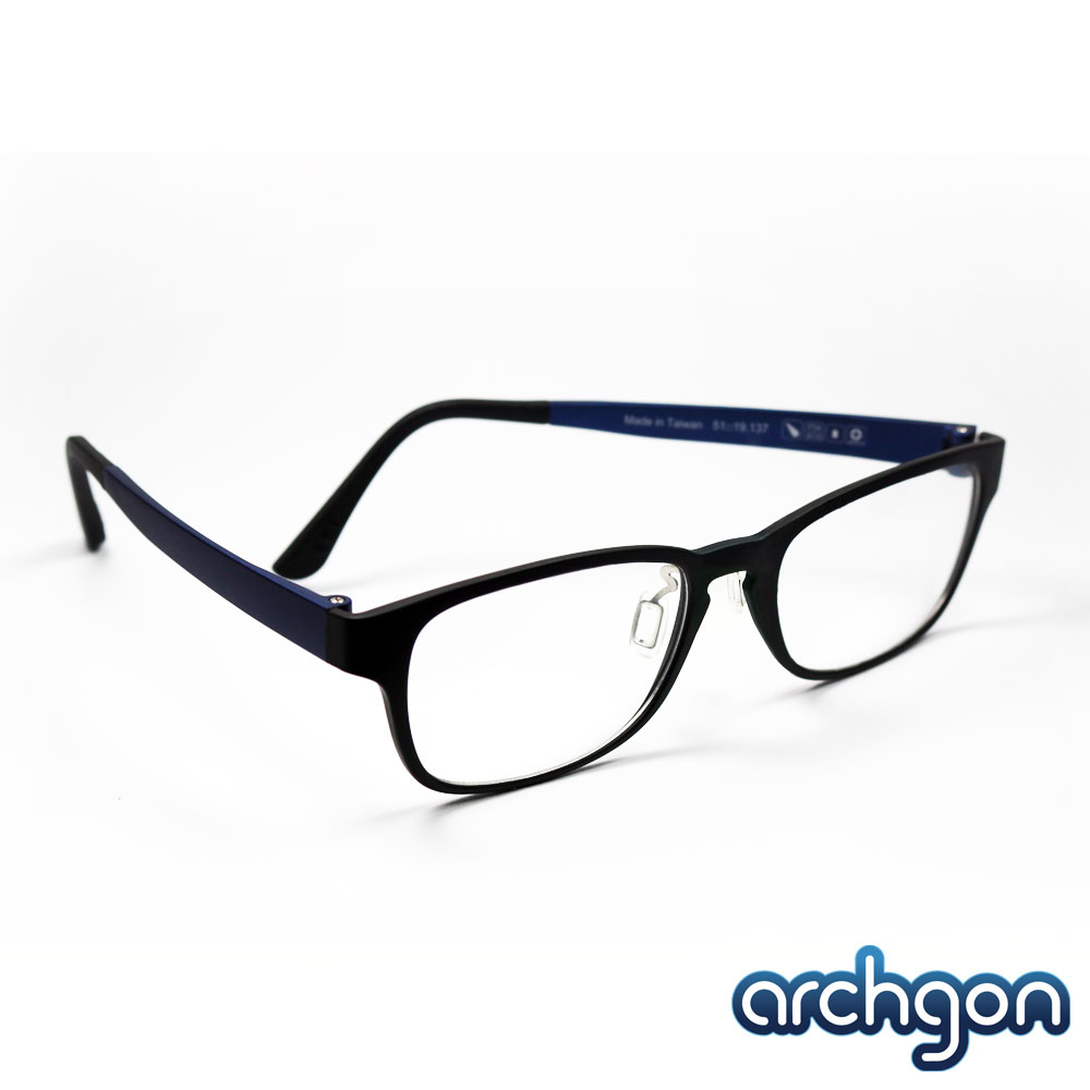 archgon亞齊慷 邁阿密熱浪風-深海藍 濾藍光眼鏡 (GL-B122-BL)