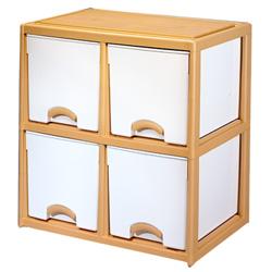 【優品】斗櫃整理箱-正四格