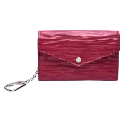 LV-M56246-EPI皮革水波紋鑰匙-零錢包
