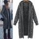 La-Belleza韓系修身混色連帽開衫針織外套