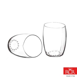 義大利RCR世界得獎無鉛水晶葡萄酒/威士忌杯(2入)390c