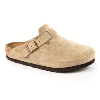 勃肯BIRKENSTOCK 560771。波斯頓 包頭拖鞋(卡其色)