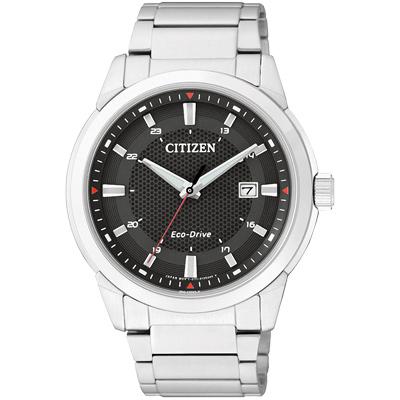 CITIZEN Eco-Drive 光動能腕錶(BM7141-51E)-黑/41mm