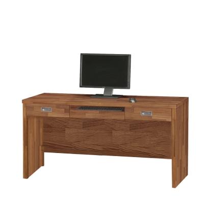 品家居 萊特5尺電腦書桌-150.9x57.6x78.5cm-免組